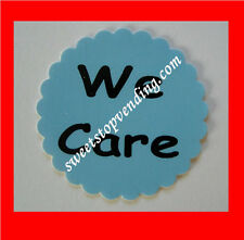 10 We Care Stickers Bulk Vending Labels