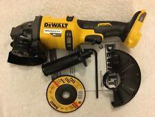 """New Dewalt DCG414B 60V 60 Volt Max Flexvolt 4-1/2"""" - 6"""" Brushless Grinder"""