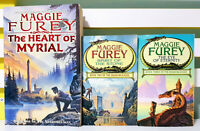 Complete Set of 3x The Shadowleague Fantasy Trilogy Books by Maggie Furey!