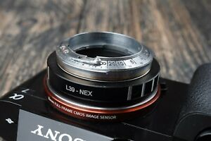 Lens Adapter Contax RF to Sony NEX Custom made