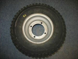 REAR RIGHT WHEEL TIRE RIM HUB 2002 CAN-AM DS50 BOMBARDIER DS 50 02