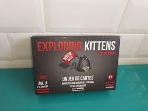 Jeu de société complet VF exploding kittens édition NSFW asmodée