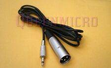 """6Ft XLR 3-Pin Male to 3.5mm 1/8"""" Mono Plug Mic Microphone Audio Sound Cable 6'Ft"""