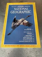 National Geographic FEBRUARY 1981 Map Supplement West Indies central America