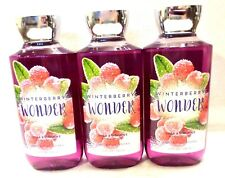3 Winterberry Wonder Shower Gel Bath & Body Works 10 Oz