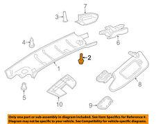 PORSCHE OEM 13-16 Boxster Interior-Roof-Header Trim Screw 99901502509