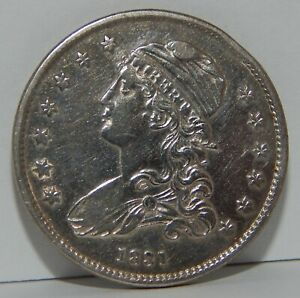 1831 - U.S. - Silver - Capped Bust Quarter - 25¢ Cleaned