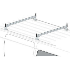 2 Bar Silver Aluminum Ladder Roof Rack System AMZ-145 Fits: Chevy City Express