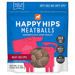 Happy Hips & Joint Meatballs, Functional Dog Treats With Glucosamine and Beef 14