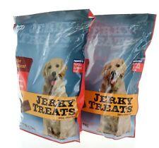 2x Jerky Treats Tender Beef Strips Dog Snacks 60oz Vitamins Minerals & Omega 3