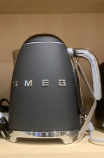 NEW Smeg Basic Electric Kettle Cream Matte Black