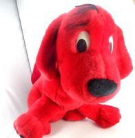 "Clifford The Big Red Dog Large 20"" Plush Stuffed Animal Scholastic Book jumbo"