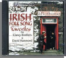 The Clancy Brothers & David Hammond - Irish Folk Song Favorites - New 23 Song CD