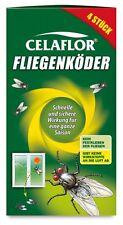 "Celaflor ""Fliegen-Köder"" 4 Stk., Fliegen-Bekämpfung, ideal f. Küche/Schlafzimmer"
