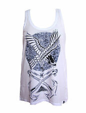 BRAND NEW HURLEY WOMENS CAMI TANK TOP T SHIRT TEE LOOSE FIT TUNIC BLOUSE SZ XS
