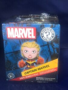 Funko Mystery Minis Captain Marvel Marvel Collector Corps Exclusive Bobblehead