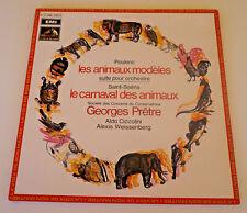 Poulenc Weissenberg Ciccolini Pretre - EMI 1967 Saint Saens Les Animaux Modeles