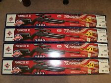 Lot of 4 Crosman 760 Pumpmaster Air Rifle Kits with Scope Glasses Targets Ammo
