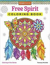 Free Spirit Coloring Book by Thaneeya McArdle (2015, Paperback) new