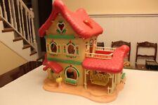 "Strawberry Shortcake ""Berry Happy Home"" Dollhouse Vintage 1983"