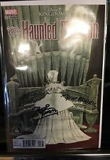 Disney Kingdoms Haunted Mansion Comic 1 Disneyland Parks Variant Signed 3X WDI