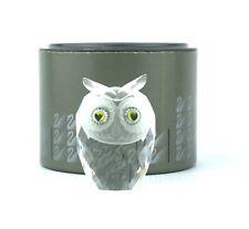 Swarovski Crystal Owl Figurine Small 010016 Woodlands Friends No Box