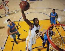 KEVIN DURANT Signed Autographed 11x14 Photo Golden St Warriors BECKETT BAS