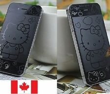 Hello Kitty iPhone 4 4S Screen Protector (Not Case) Cover Pkg#1 Front & Back