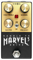 Marvel Drive 3 (BLACK)   |   Marshall plexi tone   |   Buy direct from Ramble FX