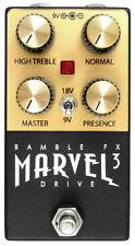 Marvel Drive 3 (BLACK)   |   Marshall plexi tone   |   Buy direct from Ramble FX