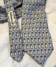 Vineyard Vines Christmas Penguin Necktie Tie Mens