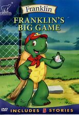NEW DVD // TREEHOUSE //FRANKLIN // FRANKLIN'S BIG GAME // ENGLISH & FRENCH