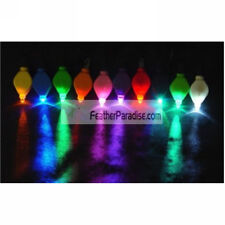 Led Floral Lights / FloraLytes for Tower Vases 12 Pieces - Green