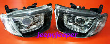 @D LED PROJECTOR HEADLIGHT Head Light Lamp MITSUBISHI TRITON L200 2005 2012