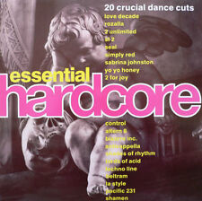 Various Essential Hardcore 1991 UK VINYL LP EXCELLENT CONDITION  DINTV 33