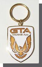 GTA Trans Am WHITE Cloisonne Nose Emblem Keychain