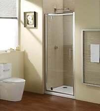 KLKN-PD-90-001 Echtglas Duschkabine Dusche Duschabtrennung Duschtür Pivottür 90