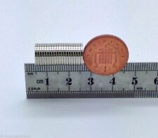 20 VERY SMALL SUPER STRONG DISC MAGNETS TOP N52 GRADE 10MM X 1MM FROM THE UK!!