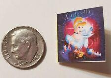Miniature dollhouse Disney Princess book Barbie 1/12 Scale Cinderella P