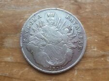 """1771 Bavarian silver thaler """" Madonna and child"""" reverse. @@ must see @@"""