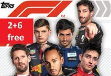 Topps F1 Formula 1 2020 Stickers 1-232 2+6 Free Choice