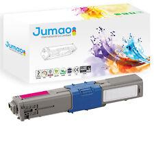 Toner type Jumao compatible pour OKI C530dn C531 C531dn, Magenta 5000 pages