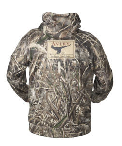 Avery AWE Logo Hoodie Realtree MAX 5 Camo Hooded Sweatshirt Greenhead Gear GHG