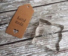 Rubber Stamps Tags Hand Made