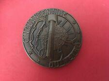 Medaille Cinquantenaire Du Métro / Département De La Seine / Paris 1900