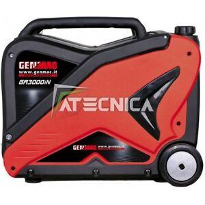Engine-Generator Silenced Ad Inverter 1,8 Kw Genmac GR2000iN Generator Rato