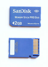 Sandisk card Memory Stick MS Pro Duo 1GB x fotocamera e PSP scheda Magicgate