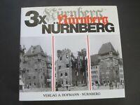 VINTAGE 1995 3X NURNBERG GERMANY COFFEE TABLE BOOK (IN GERMAN)
