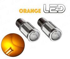 2 Ampoules BA15s P21w Orange Puissant Clignotant 13 LED