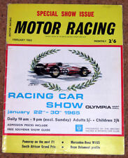 February Motor Racing Monthly Sports Magazines